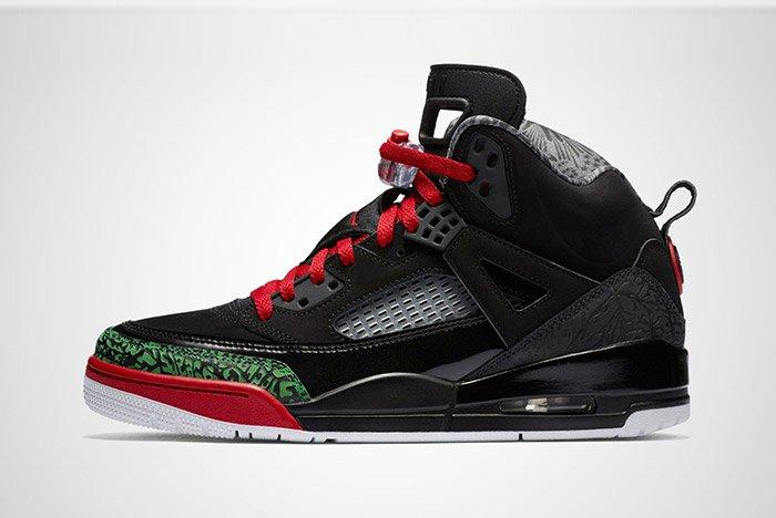 Jordan Spizike Black Red 2