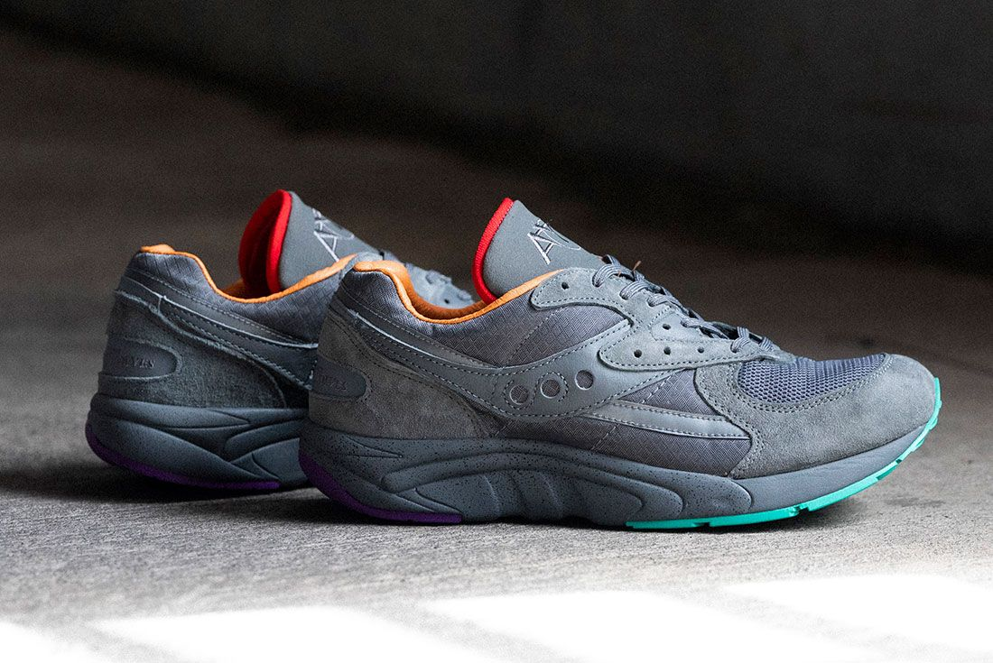Raised By Wolves Saucony Aya Grey Lateral