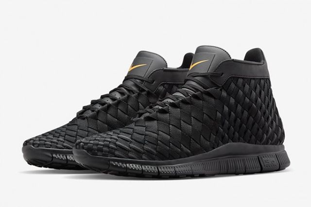 Nike Free Inneva Woven Mid Black 681X453