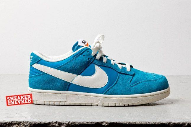 Nike Dunk Low Turquoise Profile