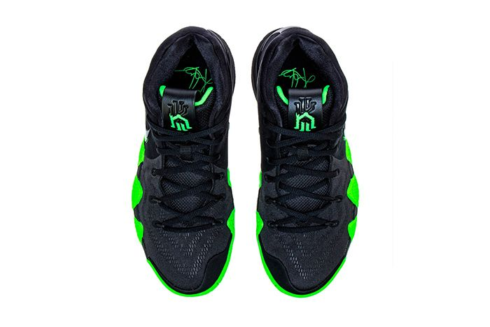 Nike Kyrie 4 Halloween Black Green 2