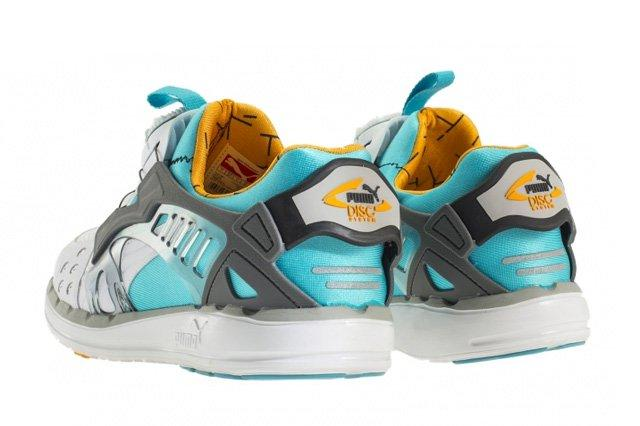 Puma Disc Blaze 1993 Peackock Blue Blazing Orange 1