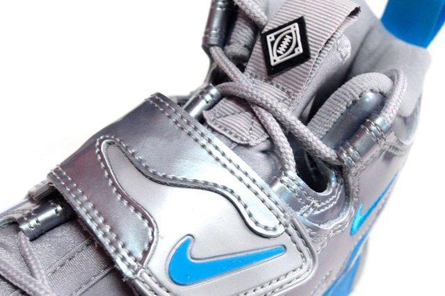 Nike Air Dt Max 96 Metallic Silver Vivid Blue 1