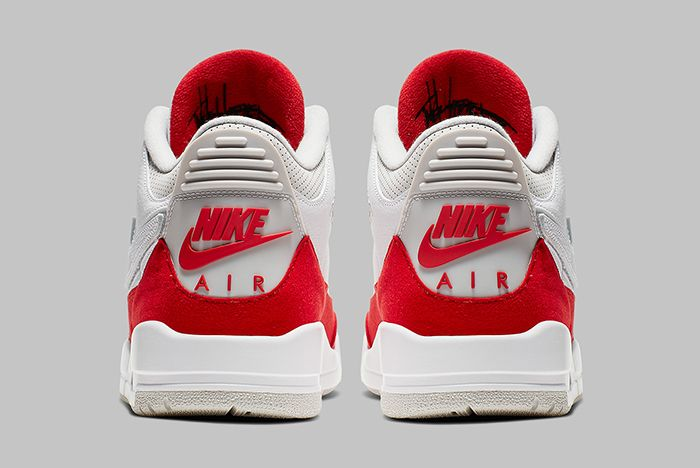 Air Jordan 3 Tinker University Red Heel Shot