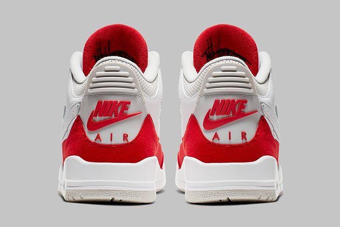 Air Jordan 3 Tinker University Red Heel Shot