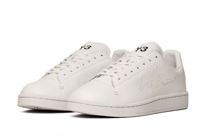 Adidas Y 3 Yohji Court White Ef2554 Front Angle