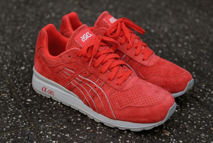 Ronnie Fieg Asics Gt Ii Super Red 2 0