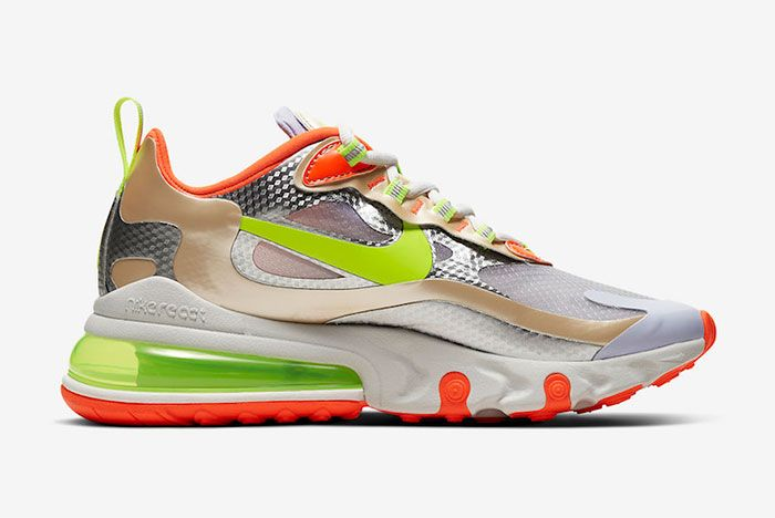 Nike Air Max 270 React Zesty Right