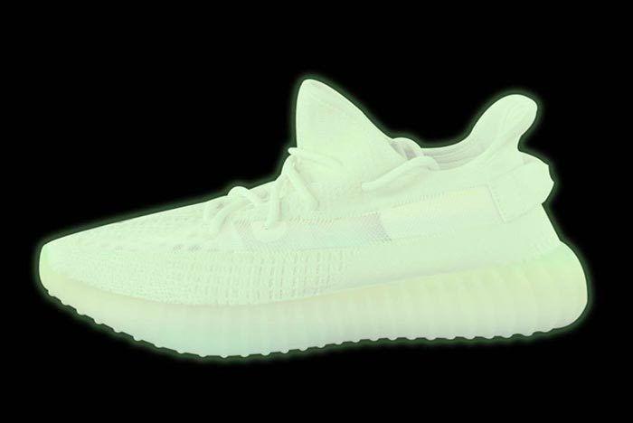 Kanye West Adidas Yeezy Boost 350 V2 Glow In The Dark 1