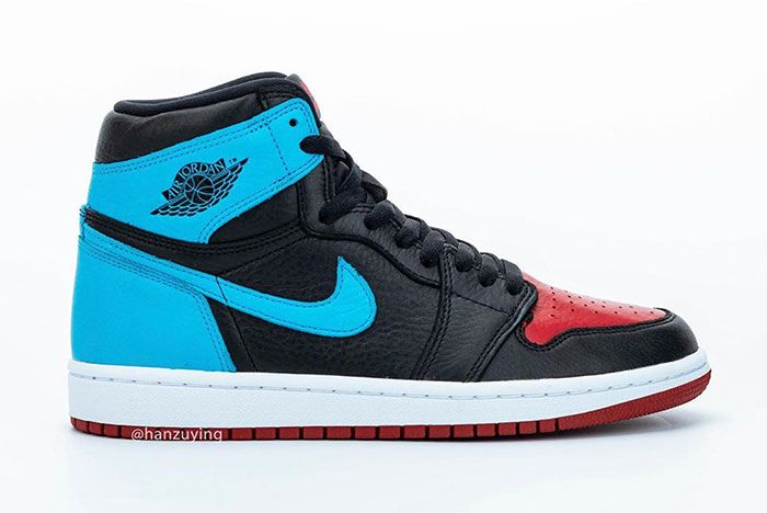 Air Jordan 1 High Unc To Chicago Right