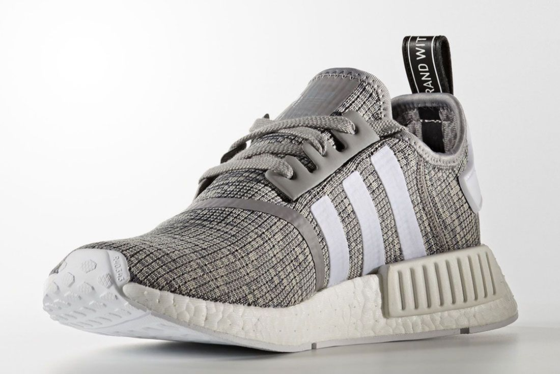 Adidas Nmd R1 Grey Glitch Pack R4