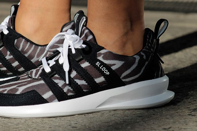 Adidas Originals Sl Loop Runner Zebra 1