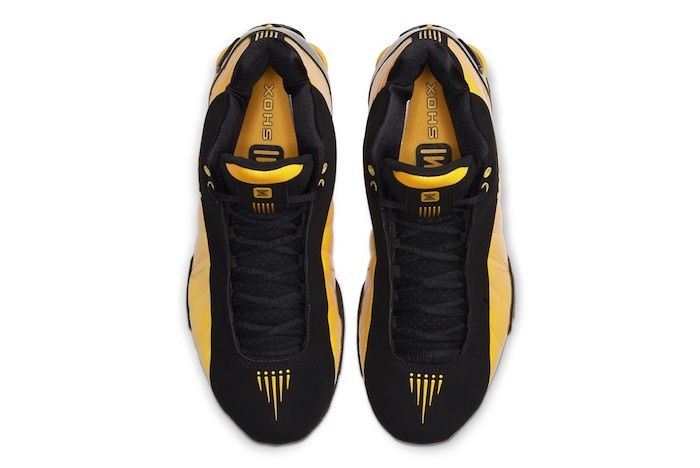 Nike Shox Bb4 University Gold 4