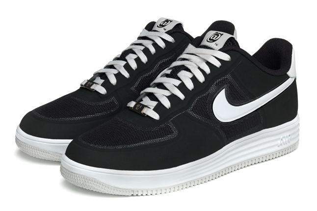 Nike Lunar Force 1 Medicom Black Pair 1