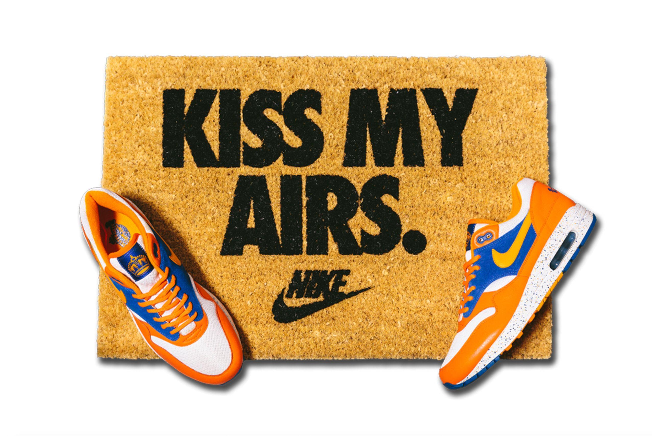 Kiss May Airs doormat