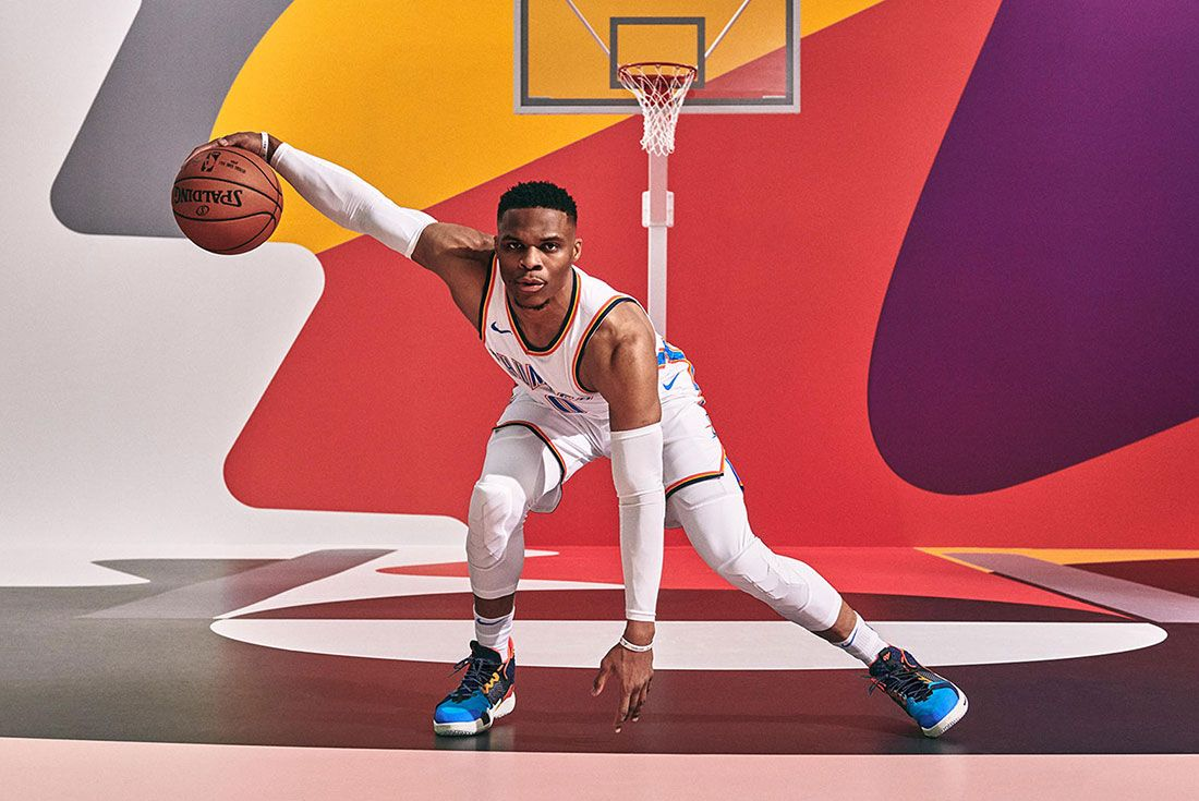 Russell Westbrook Why Not Promo Shot