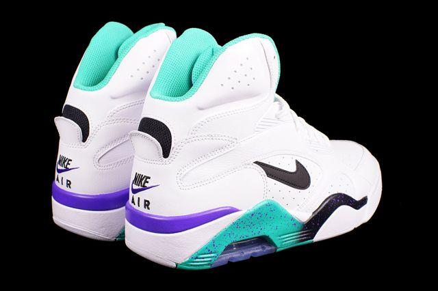 Nike Air Force 180 High Atomic Teal 1