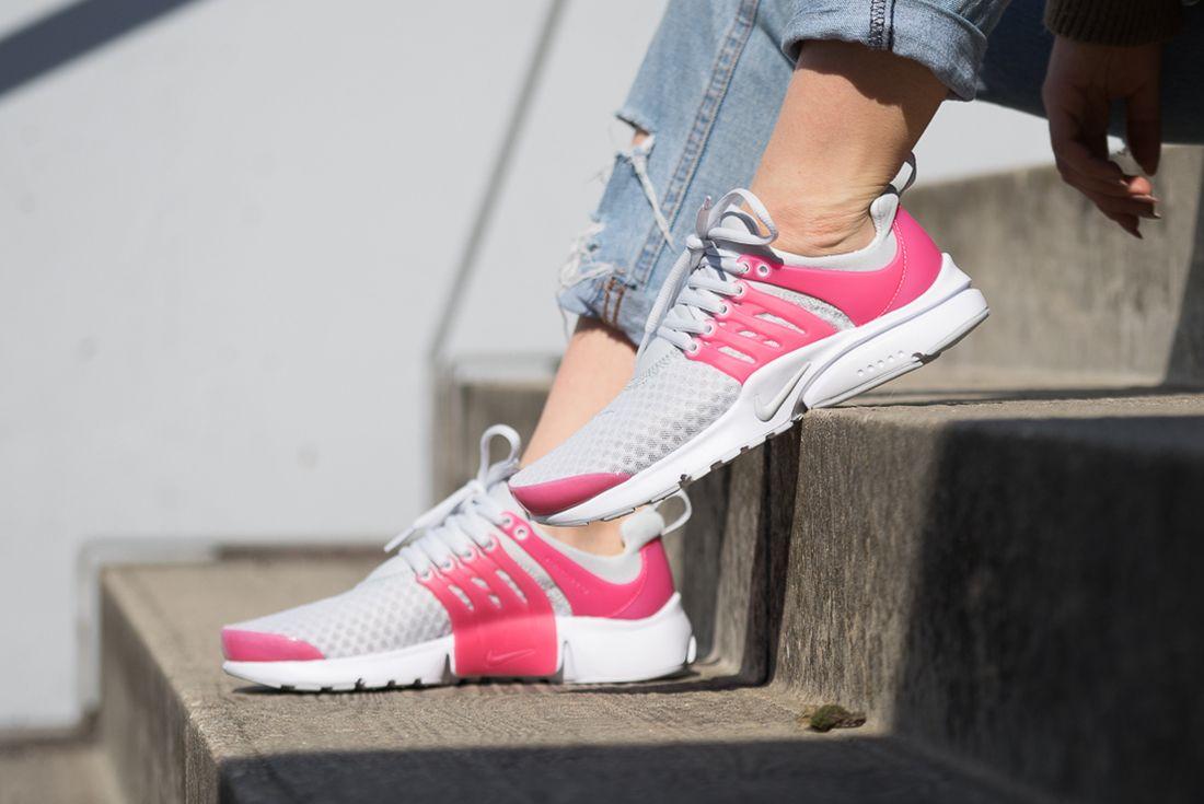 Nike Presto Breathe Gs Pure Platinum5
