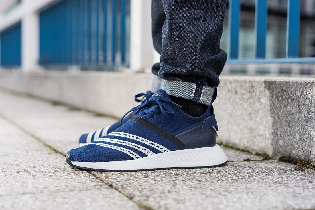White Mountaineering Adidas Nmd R2 3
