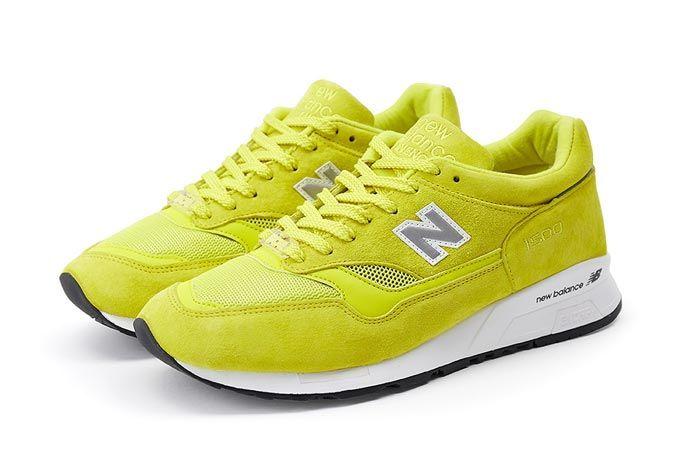 New Balance Pop Trading Company Nb1500 Electric Yellow Pair