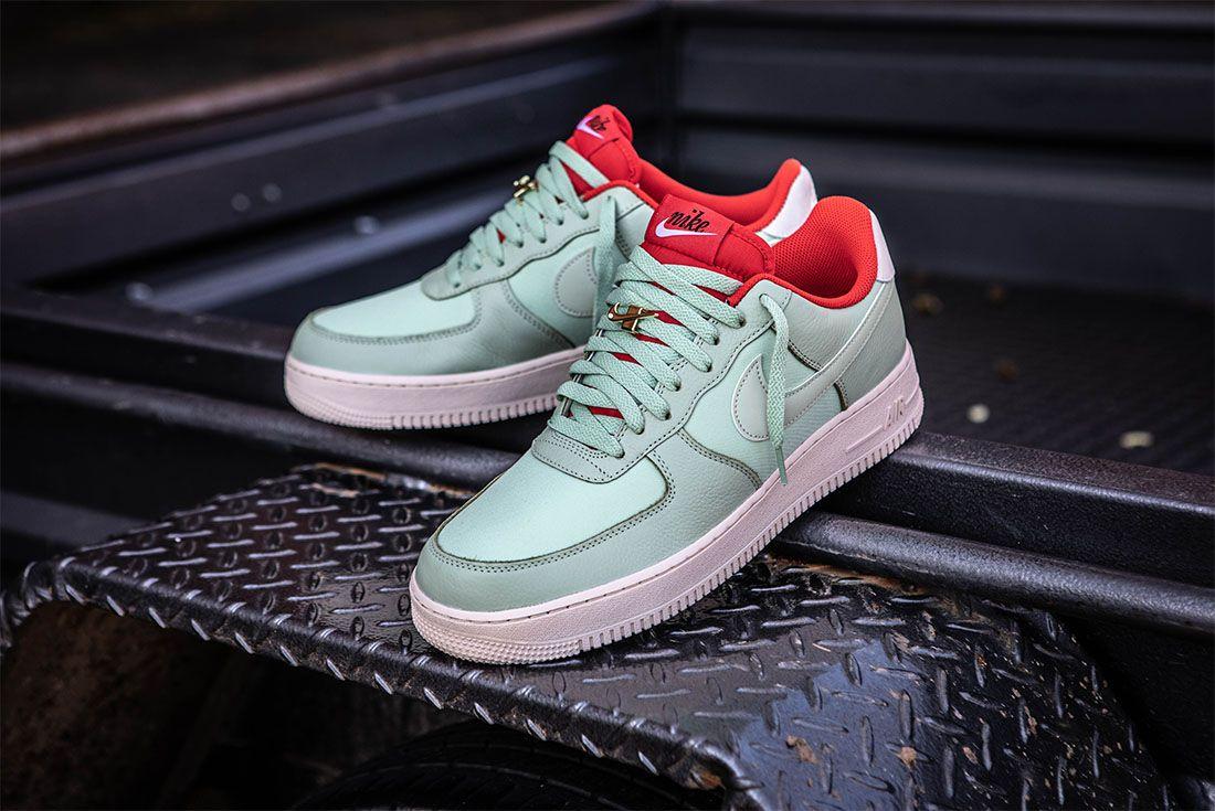 Sneaker Freaker Woody Nike By You Air Force 1 Green Lotus
