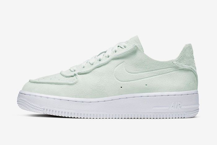 Nike Air Force 1 Decon Ghost Aqua Lateral Side