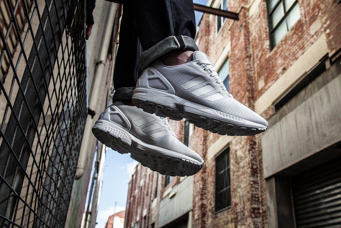 Adidas Zx Flux Triple White1