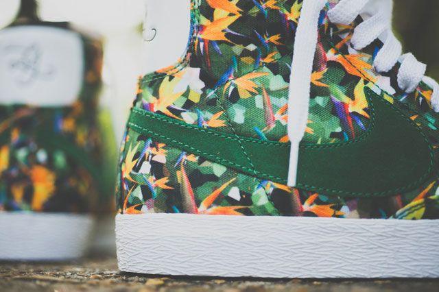 Nike Vintage Blazer City Pack La Closeup