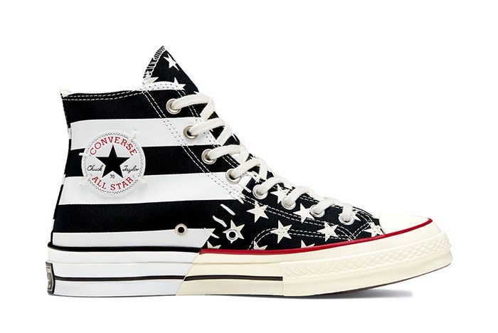Converse Chuck Taylor All Star 70 Stars And Stripes Black Right