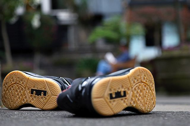 Nike Lebron 11 Low Black Gum 1