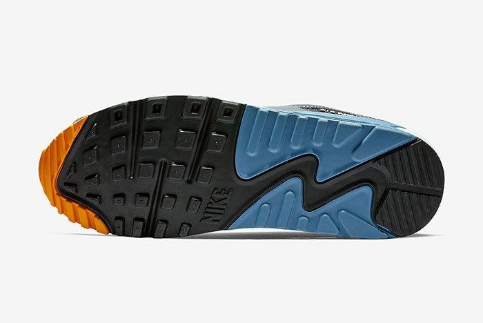 Nike Air Max 90 Grey Blue 6