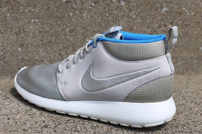 Nike Roshe Run Mid Summer Pack Blue Hero Heel 1