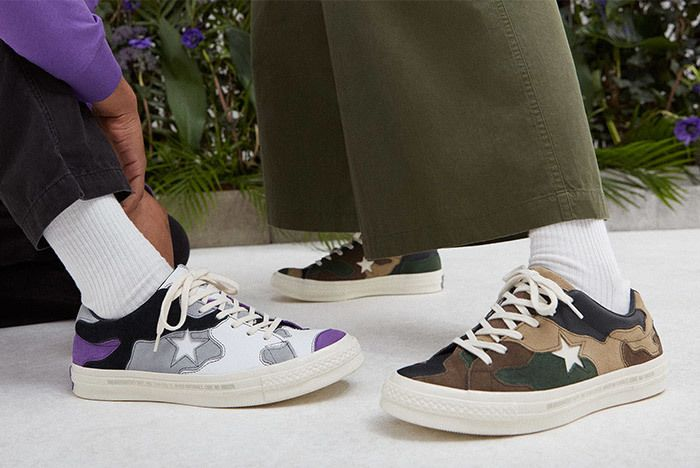 Sneakersnstuff Converse One Star Camo 6