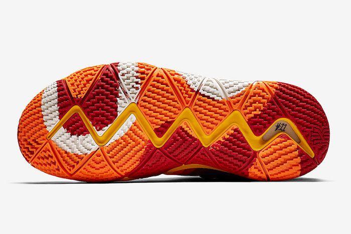Nike Kyrie 4 Yellow Multicolor 943807 700 Release Date 2 Sneaker Freaker