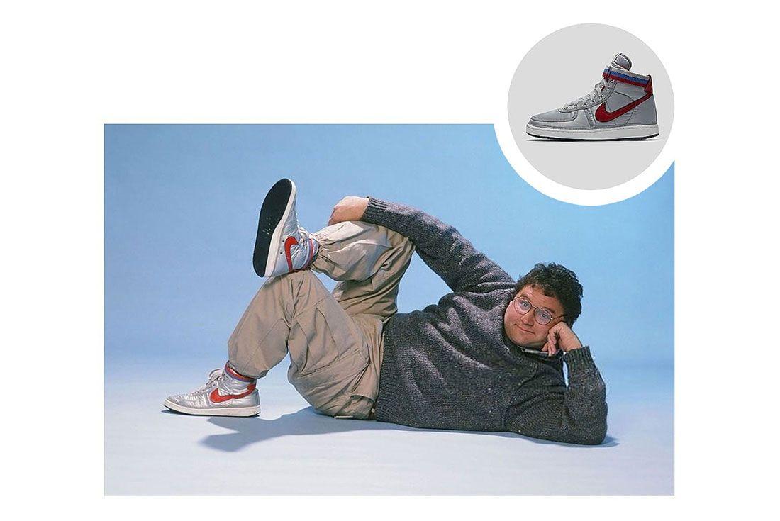 Trainer Spotting Stephen Furst Nike Vandal High