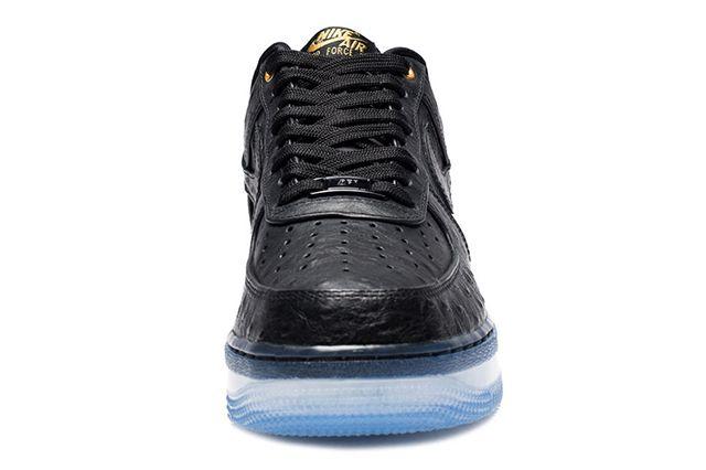 Nike Air Force 1 Cmft Black Ostrich3