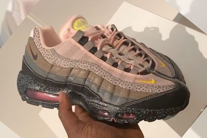 Size Nike Air Max 95 20 Years Of Size Lateral