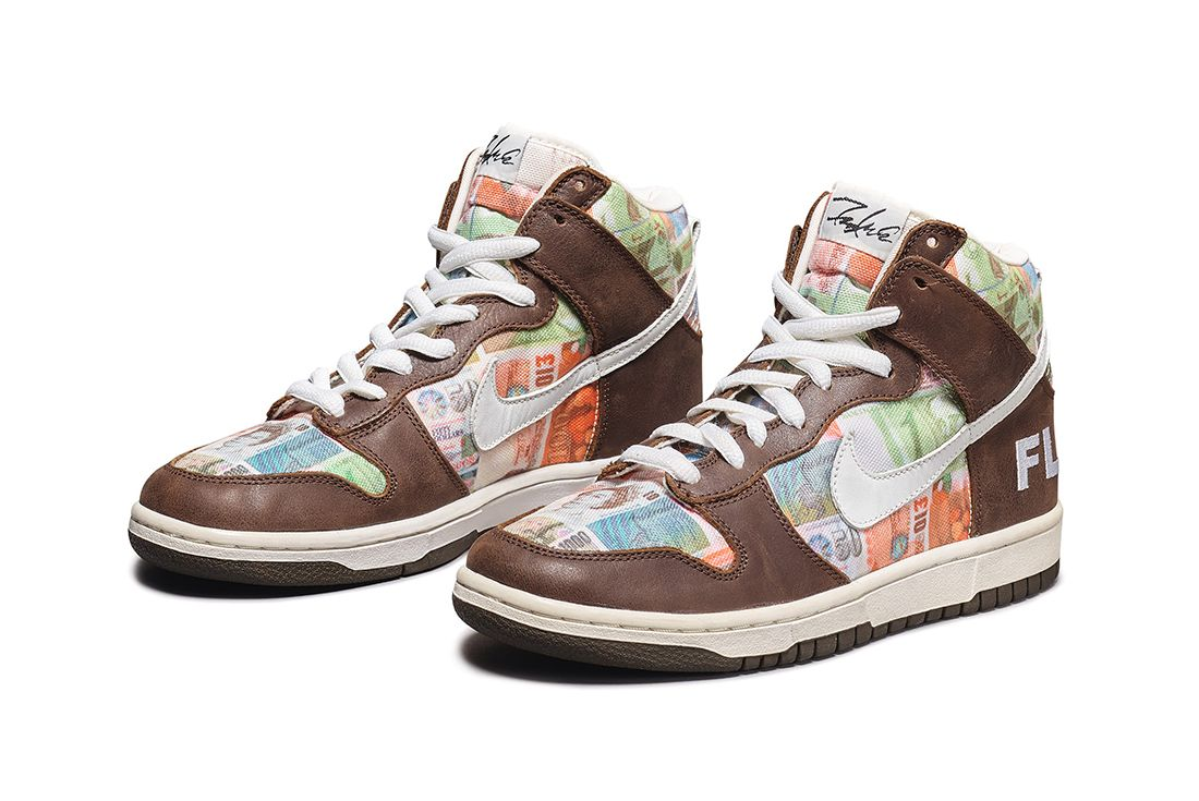 Sotheby's cult canvas auction sneakers