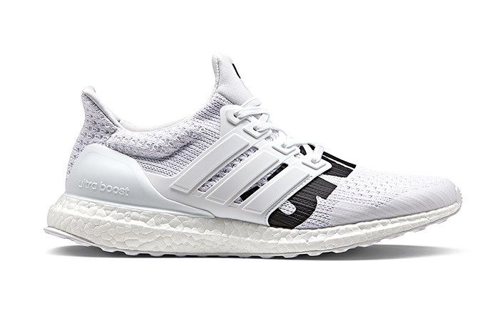 Undefeated Adidas Sneakers Ultraboost White 1