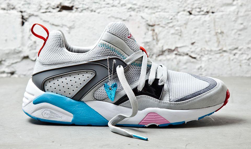 Blaze Sneaker Freaker Shark Grey Side