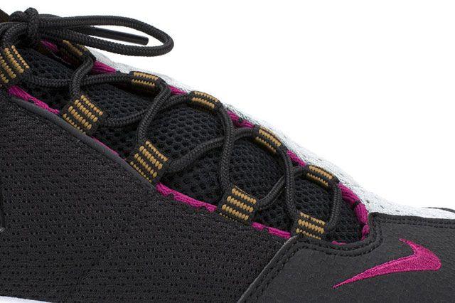 Footscape Blk Magenta Closeup