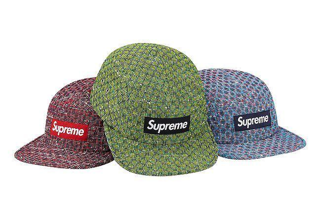 Bright Tweed Camp Caps 1