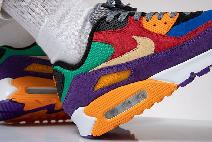 Nike Air Max 90 Viotech Cd0917 600 Heel Detail