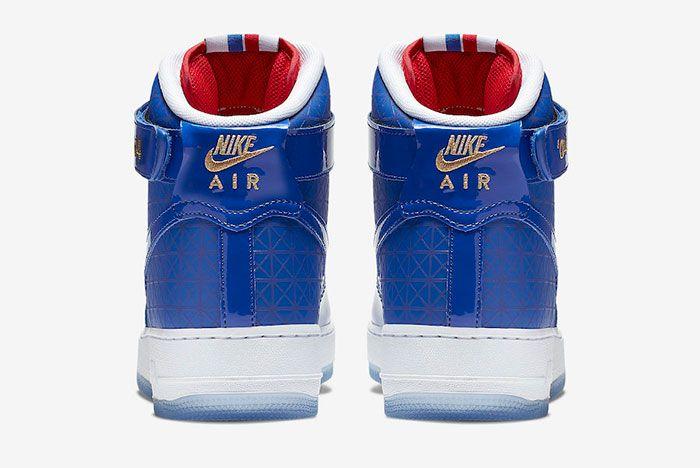 Nike Air Force 1 High 2004 Nba Finals Ci9880 400 Release Date 5 Heels
