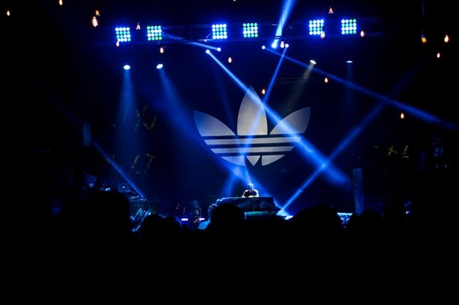 Adidas Originals Los Angeles Pop Up Concert Stage 1