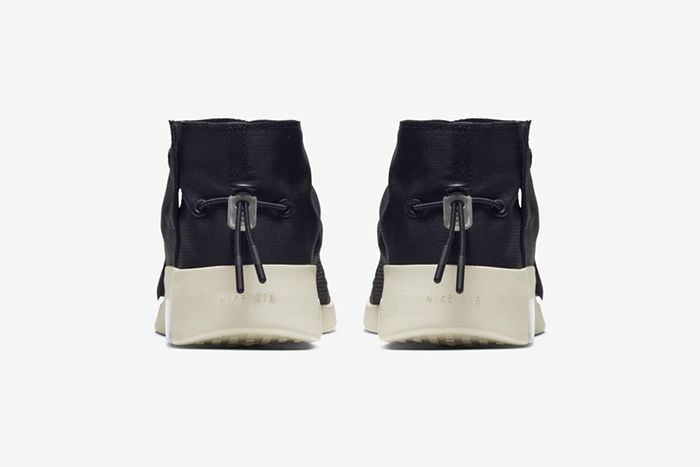 Nike Air Fear Of God Moc Black Fossil At8086 002 Release Date Heel