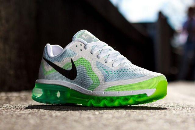 Nike Wmns Air Max 2014 White Green 4