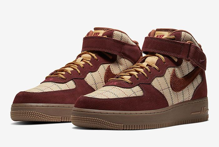 Nike Air Force 1 Mid Ct1206 900 Front Angle