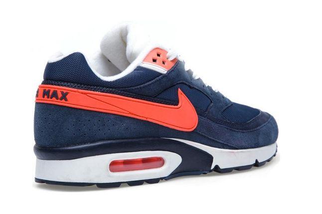 Nike Air Max Bw Squadron Blue Heel Profile 1