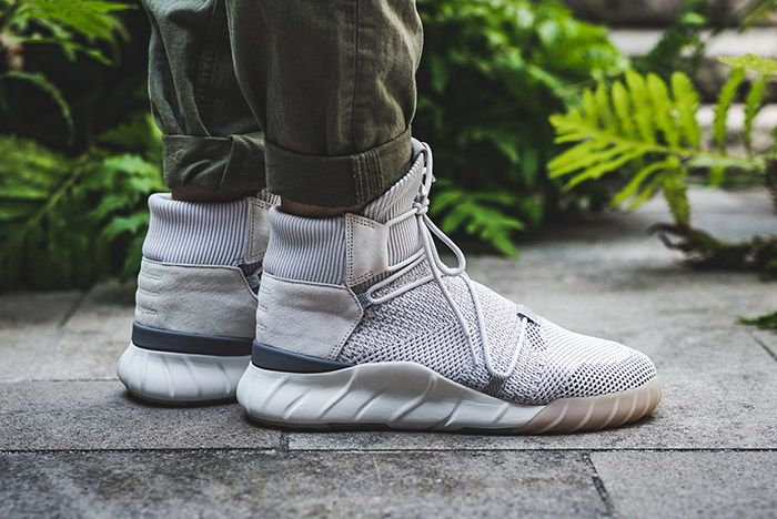 Adidas Tubular X 2 0 Primeknit Grey One 1